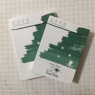 Starbucks 2018 Planner SEALED