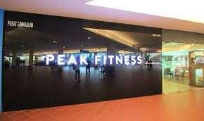 Peak fitness gym membership