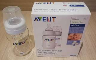 Avent 260ml (9 oz) feeding bottle set