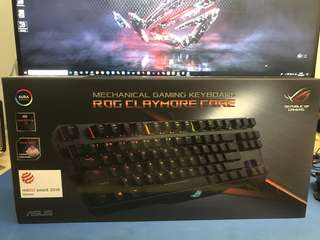 ASUS ROG Claymore Cherry MX Red RGB