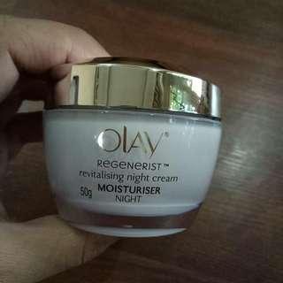 Olay regenerist revitalising night cream