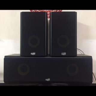 CLEO Centre and Surround Speaker