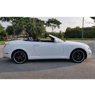 Premium Wedding Convertible Sports Car (Convertible)