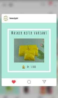 MASKER KEFIR VARIANT MURAH
