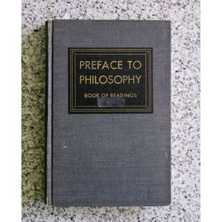 Preface to Philosophy: Book of Readings by Ross Earle Hoople, Raymond Frank Piper, William Pearson Tolley