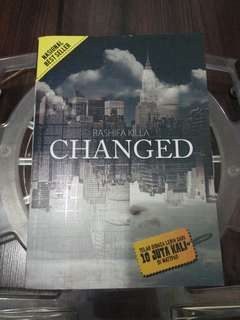 (ORIGINAL) Novel Changed by Rashifa Killa 10/10 + Pembatas buku
