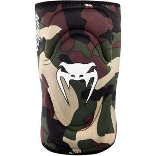 Authentic Venum Kontact Gel Knee Guard (Forest Camo)