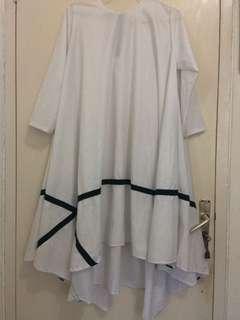 Tunik Putih Merk Wardrobe