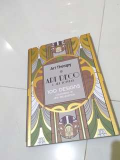 Art Deco Coloring Book