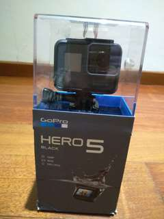 Brand New GoPro Hero 5 Black In Opened Box