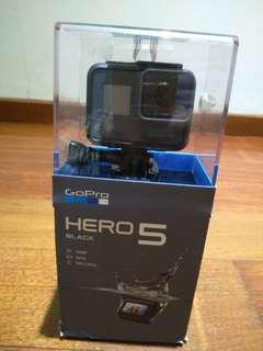 Brand New GoPro Hero 5 Black In Opened Box