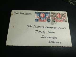 1946 和平紀念實寄首日封