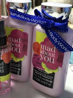 Bath And Body Works Mad About You Body Lotion