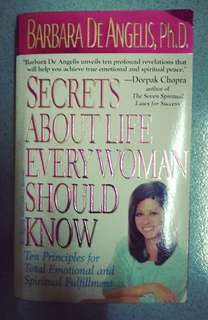 Secret About Life Every Woman Should know