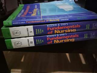 Nursing fundamentals  (2nd hand but good condition pa , plastic cover lang papalitan)