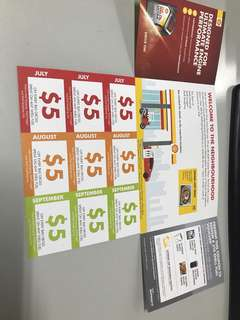 Shell Petrol Discount Coupon for Sale