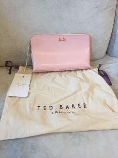 Ted baker new cosmetic bag 化妝袋