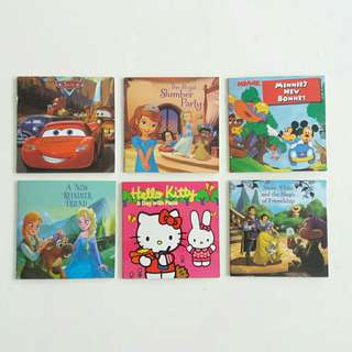 6pcs Mini Story Books