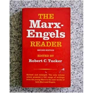 The Marx-Engels Reader edited by Robert C. Tucker