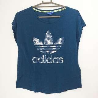 Adidas blue shirt