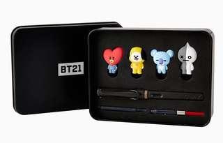 BTS x Lamy BT21 Pen Set - Tata, Chimmy, Koya, Van Edition (Delivery Only)
