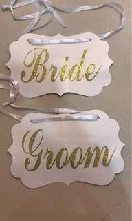 Bride & Groom 牌