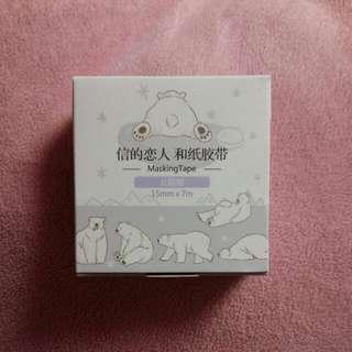 信的戀人-北極熊和紙膠帶