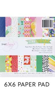 Dear Lizzy Stay Colourful paper pad