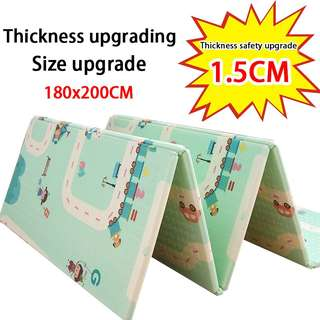 200x180CM XPE Baby Play Mat Crawling Mat Large Foldable Waterproof Playmat