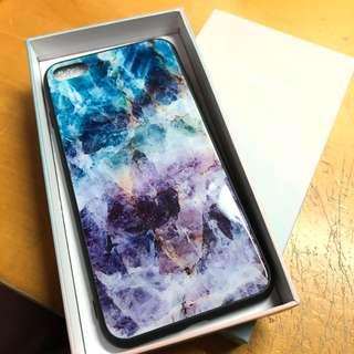 iphone 7 plus/8plus glass phone case 玻璃臉電話殼