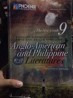 Anglo American and Philippine literatures 9