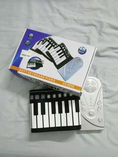Soft roll up keyboard piano 49 keys