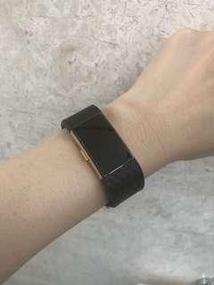 Fitbit Charge 2 Black Diamond Design Silicone Straps