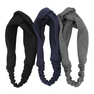 Korean Gray Headband