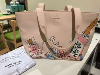 PRELOVED Kate Spade Wedding Belles tote bag