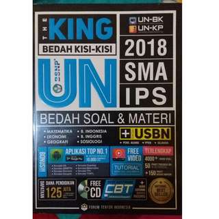 THE KING BEDAH KISI-KISI UN 2018 SMA IPS
