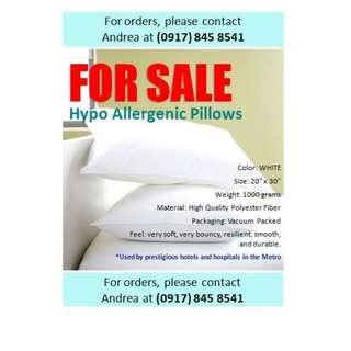 Hypo allergenic pillo
