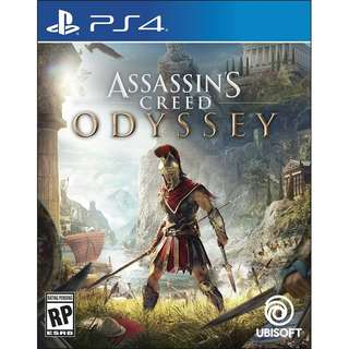 PS4 Assassin's Creed Odyssey Preorder