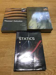 NUS mechanical engineering textbooks