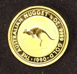 (1/4 Ounce Australia Gold Coin) - 999 Gold 🌟🌟