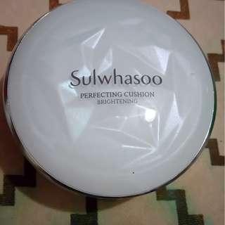 雪花秀 Sulwhasoo 氣墊粉餅 色號13 白皙 需先匯款才出貨 運費另計