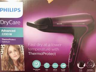 Philips ThermoProtect 2200W ionic Hairdryer