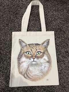 Tas Gambar Kucing