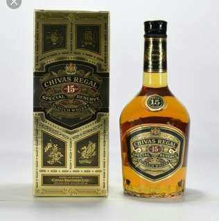 Chivas Regal 15 Special Reserve Scotch Whiskey