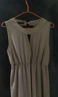 Dress panjang bahan melayang
