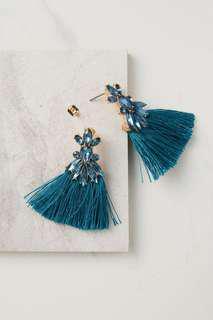 Rubi Dressy Tripple Tassle Earrings