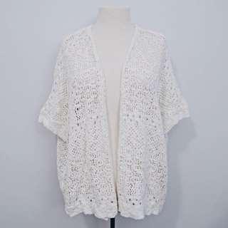 *REDUCED* White Kimono/Cardigan | Aeropostale