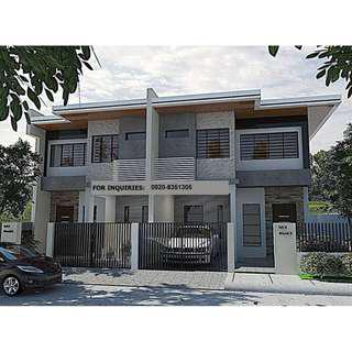 Pre Selling Duplex House and Lot in Antipolo near Simbahan & Tricon