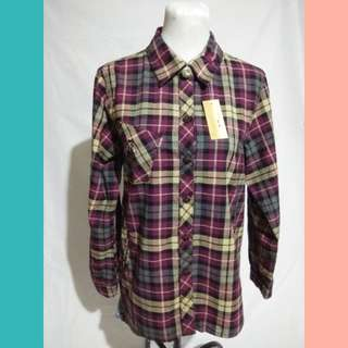 Red and Yellow Checkered Long Sleeves