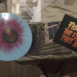 Friday 13th Part II Vinyl Record